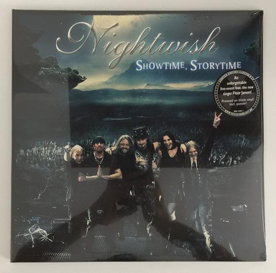 Lp Duplo Nightwish Showtime, Storytime (2013) C/ Poster!!!