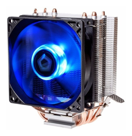 Cooler Universal Cpu Led Azul Intel Amd Fan 1150 Am3 Fm2 775