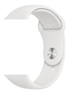Pulseira Apple Watch Original 44 Mm Esportiva Branco