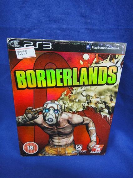 Jogo Borderlands Ps3 Mídia Física R.0059