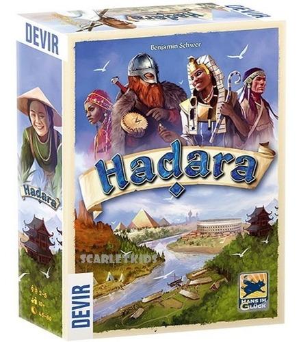 Imagen 1 de 6 de Hadara Devir Español Juego De Mesa Scarlet Kids