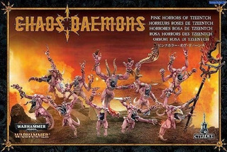 Warhammer 40k - Age Of Sigmar Daemons Of Tzeentch Pink Horro