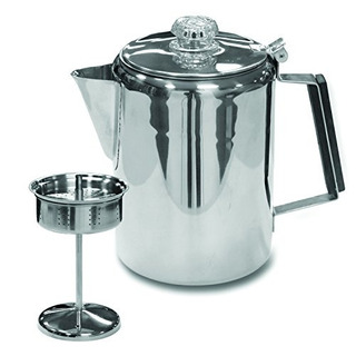 Stansport Acero Inoxidable Percolater 9cup Cafetera