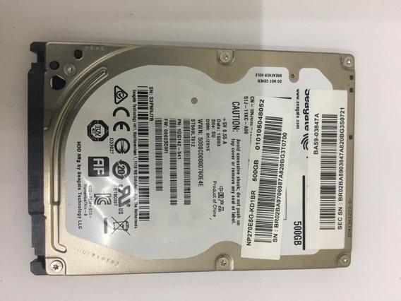 Hd 500gb Seagate Ba59-03847a Para Samsung Np270e5g-kd1br