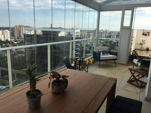 Cobertura, 175 M² - Venda Por R$ 2.700.000,00 Ou Aluguel Por R$ 11.000,00/mês - Brooklin - São Paulo/sp - Co1886