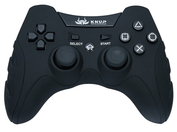 Controle Wireless Sem Fio Pc Ps1 Ps2 Ps3 Knup Kp-4032