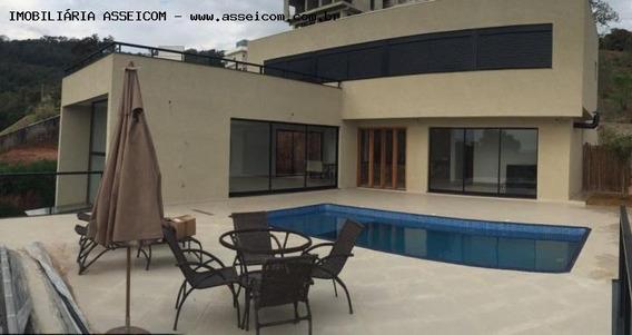 Casa Para Venda Em Atibaia, Guaxinduva, 5 Dormitórios, 5 Suítes, 2 Banheiros, 4 Vagas - 263_1-732832