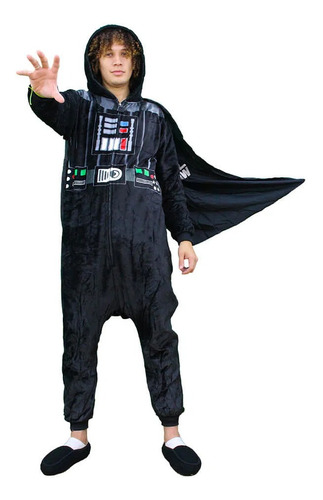 Macacão Pijama Kigurimi Star Wars Darth Vader G Zc 10071033