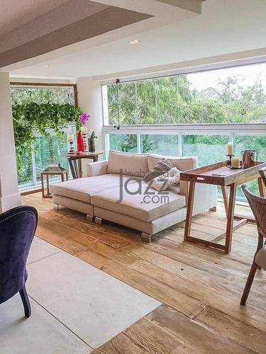 Belíssimo Apartamento À Venda, 207 M² Por R$ 1.950.000 - Condomínio Villagio Panamby - São Paulo/sp - Ap5010