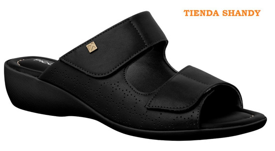 Piccadilly Zueco C/ Velcro, Taco Chino Confortables