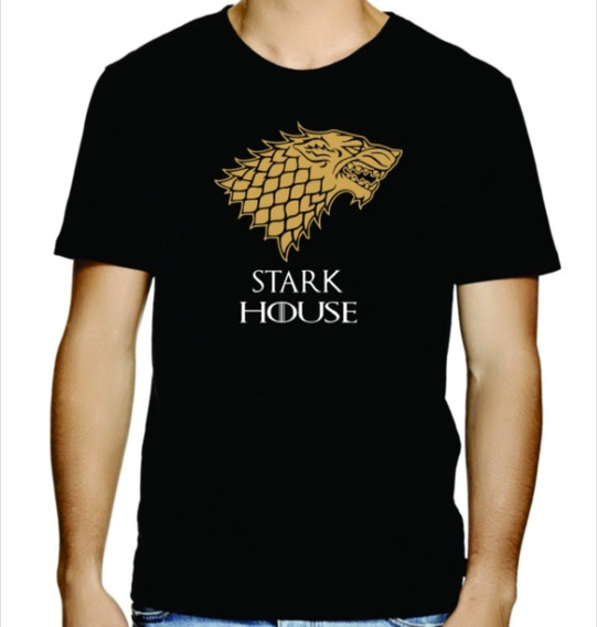 Playera Game Of Thrones Stark House