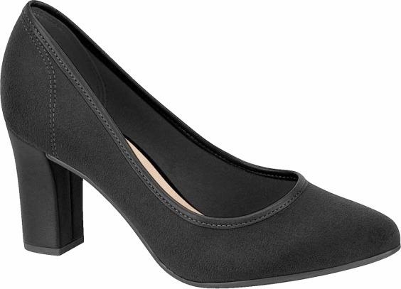 Sapato Feminino Beira Rio Camurça 4155 100 Preto