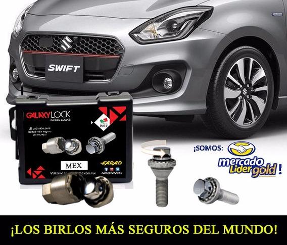 Birlos Seguridad Galaxylock Suzuki Sx4 2013 M12 X 1.25