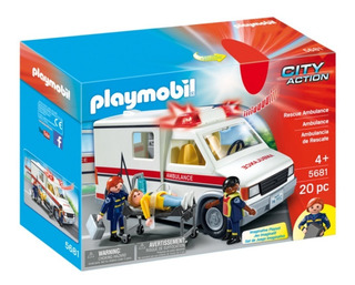 Playmobil City Action Ambulancia De Rescate 5681