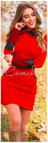 Vestido Rojo Hermoso