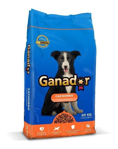 Ganador Alimento Perro Cachorro 20 Kg