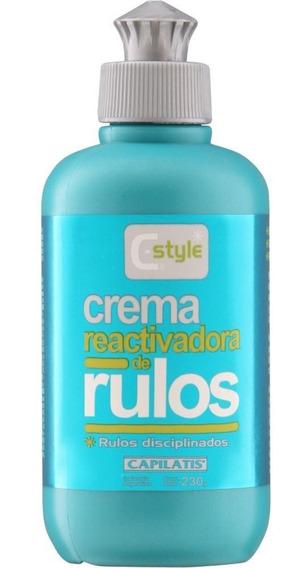 Capilatis C-style Crema Reactivadora De Rulos