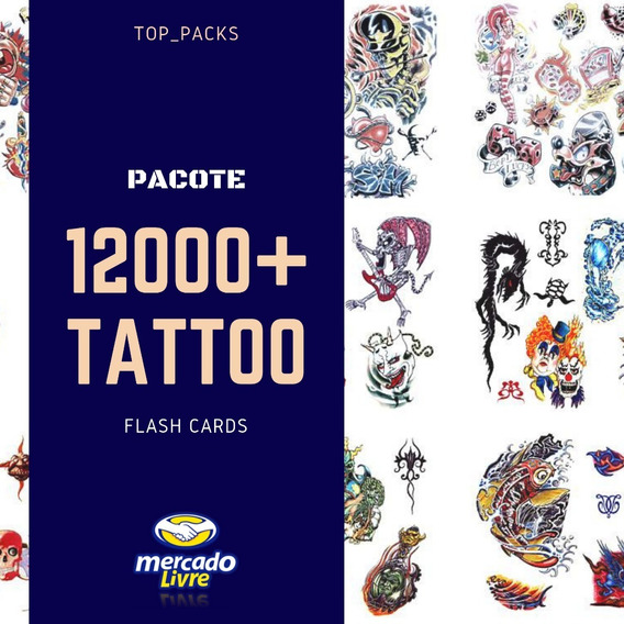 12.000 Tatuagens Em Flash Cards Tattoo