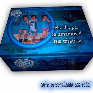Cofre Personalizado Con Foto. (26x16x20)