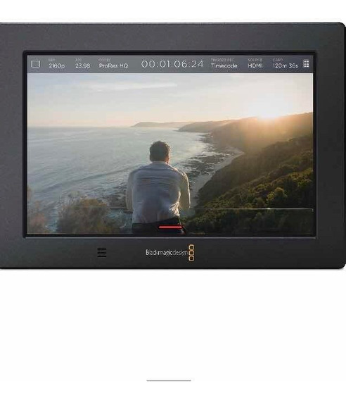 Blackmagic Video Assist 4k 7 - Hdmi/6g Sdi Recording