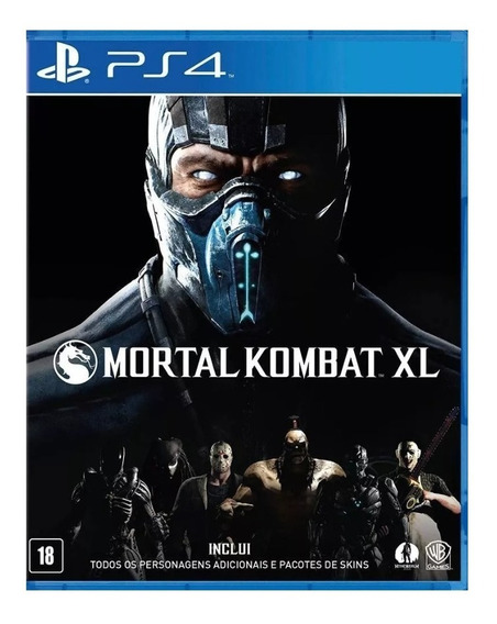 Mortal Kombat Xl Jogo Ps4 Original 1ª Garantia Vitalicia