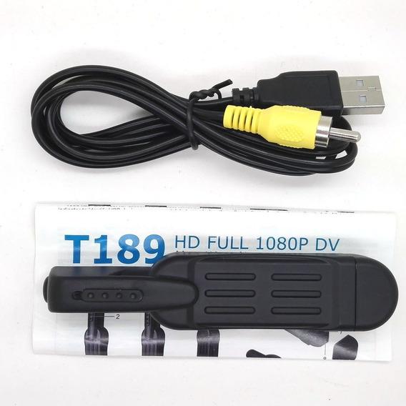 Full Hd 1080 P Mini Dv Dvr Bolsillos Grabar Pen Cámara T189