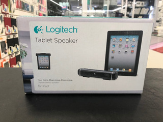 Parlante Logitech Con Soporte Para iPad 2/3/4