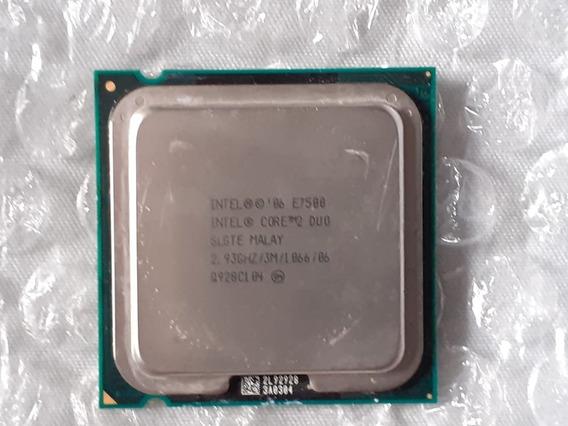 Processador Cpu Core 2 Duo E7500 1066 Intel Lga 775