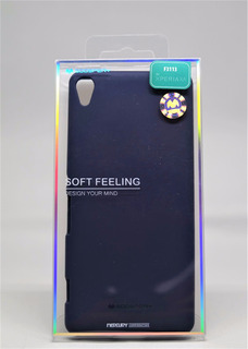 Funda Xperia Xa Mercury Goospery Soft Feeling Navy