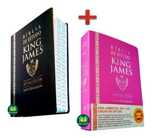 Imagem 1 de 6 de Bíblia De Estudo King James Atualizada ( Masc. + Feminina )