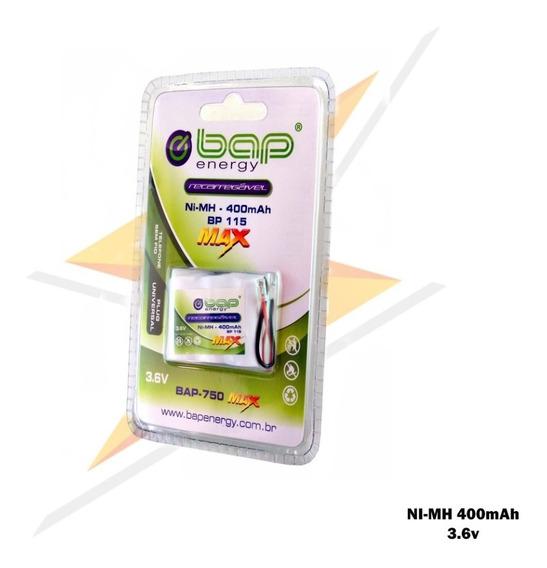 Bateria Para Telefone S Fio Motorola Panasonic 3.6v 400mah