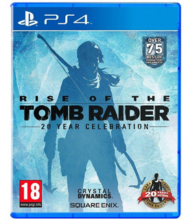 Rise Of The Tomb Raider 20 Aniversario / Juego Físico / Ps4