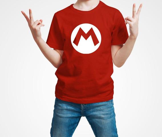 Playera Super Mario Bros Niño 1 Pza Envio Gratis
