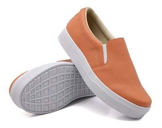 Tênis Infantil Kit 2 Pares Menina Slip On Mod Liso Dk Shoes