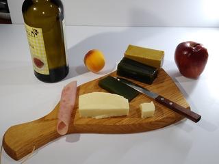 Tabla De Madera Cocina Set 2 Pzs