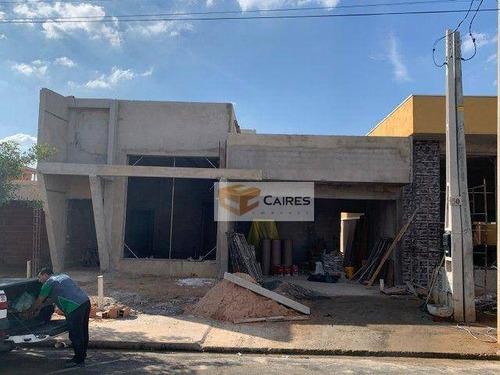 Imagem 1 de 6 de Casa Com 3 Dormitórios À Venda, 280 M² Por R$ 450.000,00 - Parque Gabriel - Hortolândia/sp - Ca3299