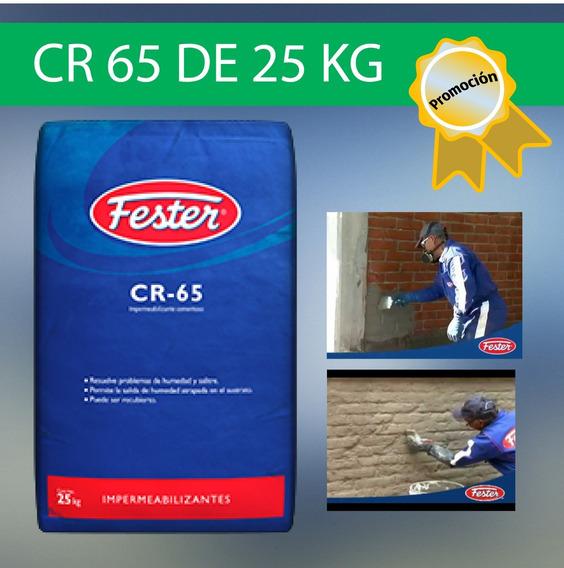 Fester Cr-65 25 Kg Impermeabilizante Cementoso Gris
