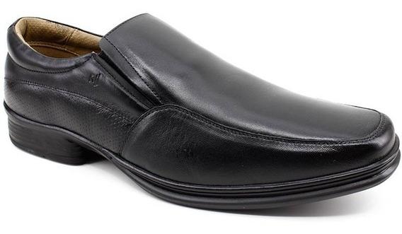 Sapato Rafarillo 45 Acima 810516 Preto Couro Loja Pixolé