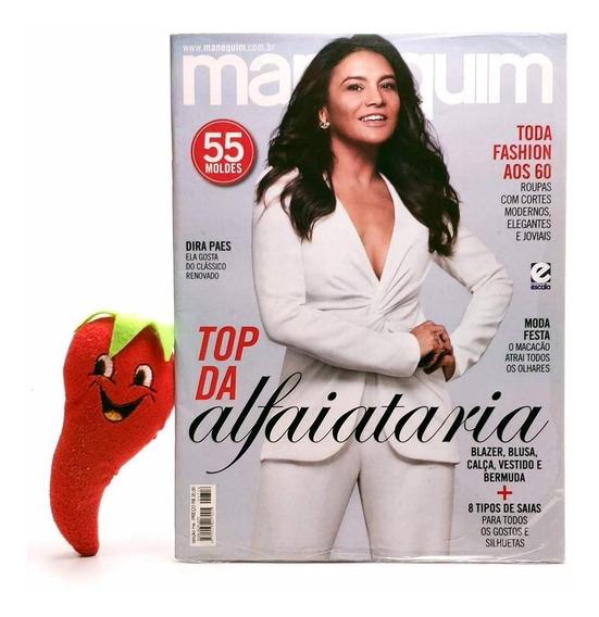Revista Manequim Top Da Alfaiataria N° 716 (loja Do Zé)