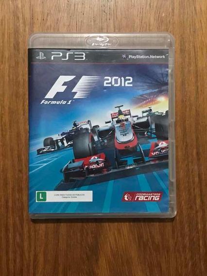 F1 2012 Playstation 3 Mídia Física Formula 1 Corrida Ps3 Top