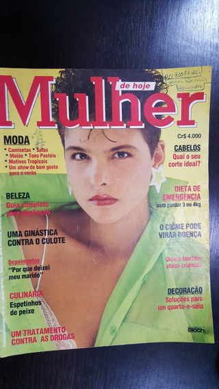 Revista Mulher De Hoje N° 61 De 1985