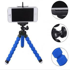 Tripé Flexível Mini - Câmera E Celular - Universal