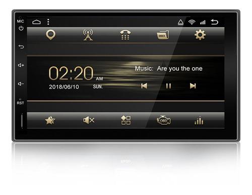 Yuehoo 7 Pulgadas 2 Din Para Android 9.0 Car Stereo Radio 8