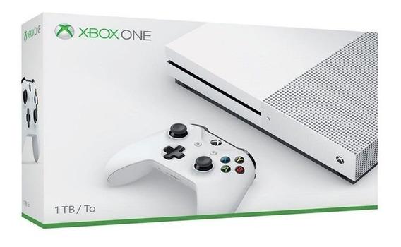 Console Xbox One S 1 Tb Lacrado Retire Em Mãos