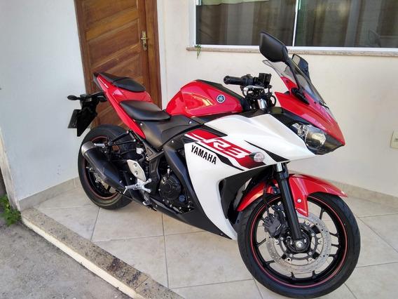 Yamaha R3 2016 Abs Vermelha