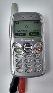Celular Panasonic Mini A102 Linha Gd55 Raridade Relíquia