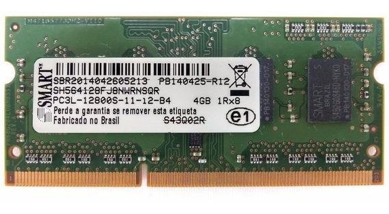 Memoria Ddr3 4gb 1600 1333 Smart Notebook - Semi Nova