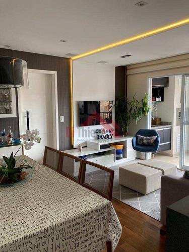 Imagem 1 de 30 de Apartamento Com 2 Dorms, Santa Paula, São Caetano Do Sul - R$ 740 Mil, Cod: 1721 - V1721