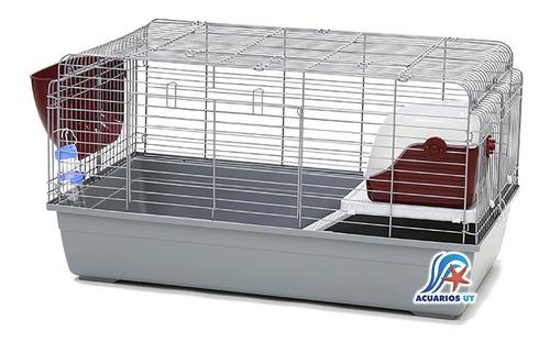 Jaula Con Accesorios Para Conejos Cuis Cobayos. Dayang R4