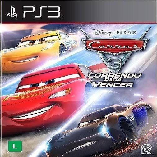 Disney Pixar Carros 3 Ps3 Jogo Em Inglês Play3 Comprar